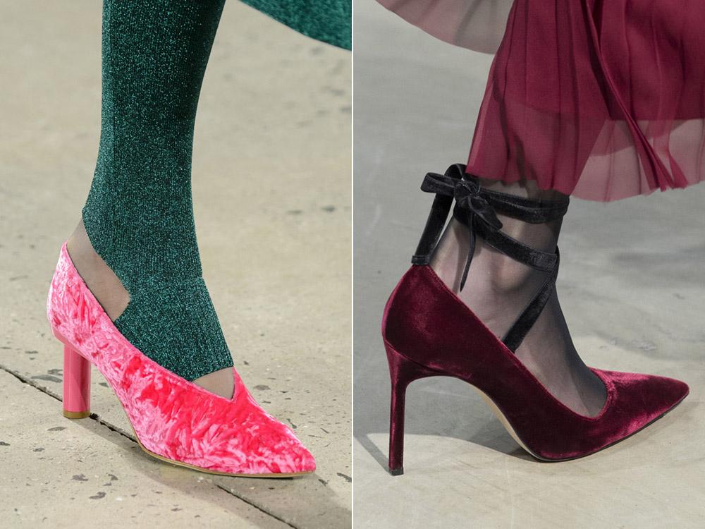Розовые туфли Carolina Herrera