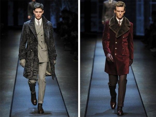 Вельветовое мужское пальто