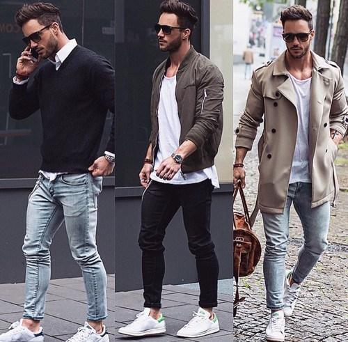 Skinny jeans мужские