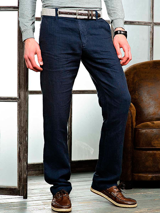 Мужские брюки из денима