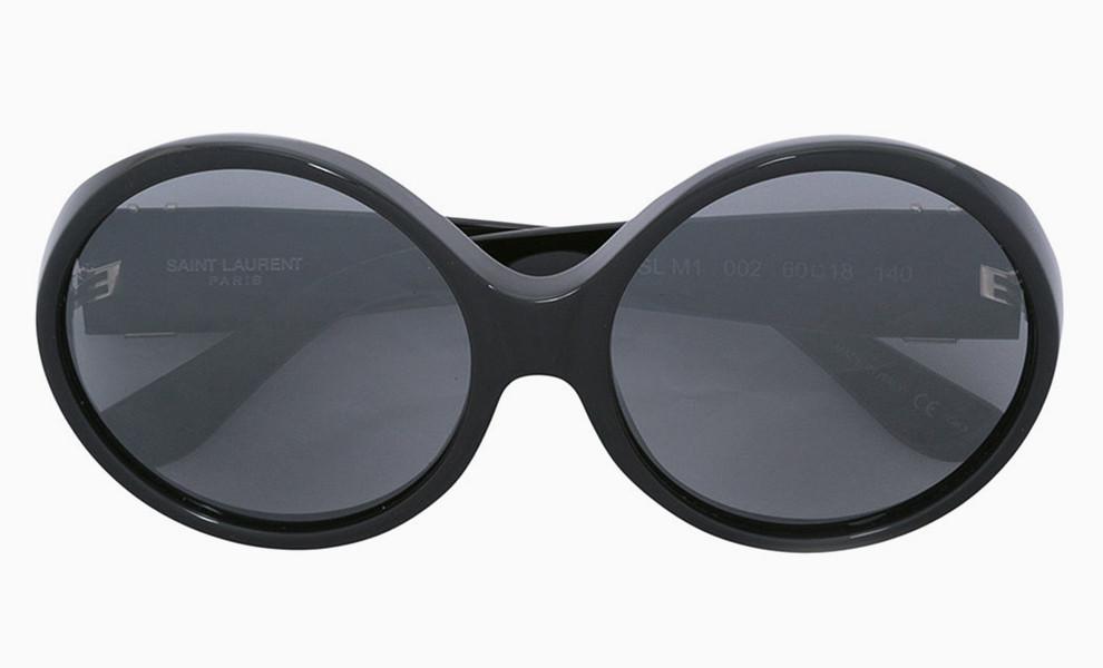 Овальные очки Saint Laurent