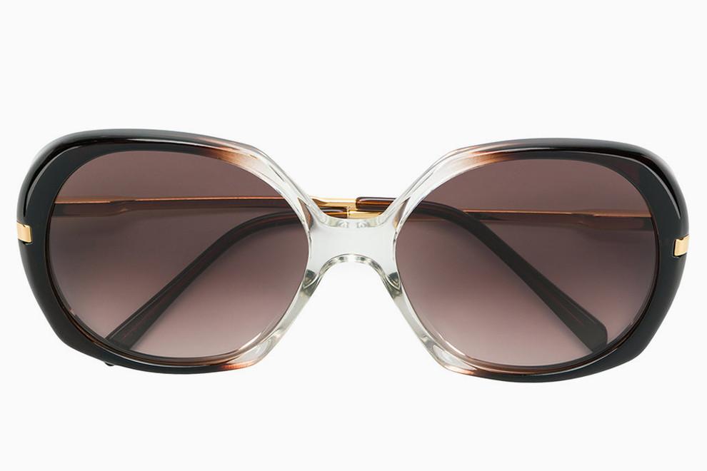 Прямоугольные очки от солнца