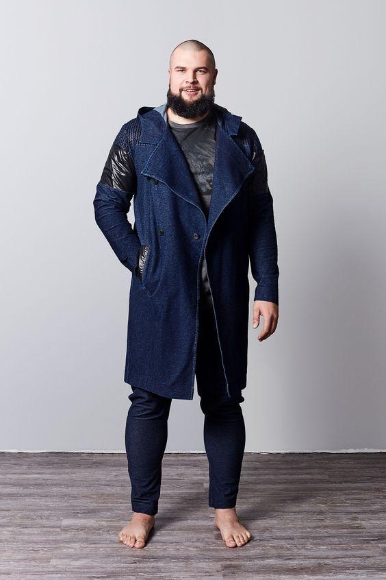 Мужские пальто больших размеров