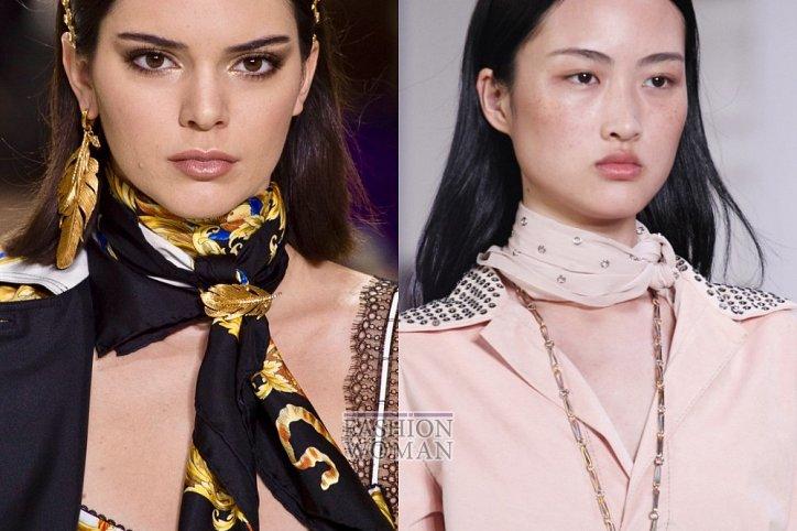 Женские шелковые платки зима 2019