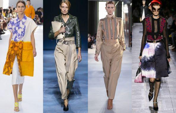 Женская мода весна 2019