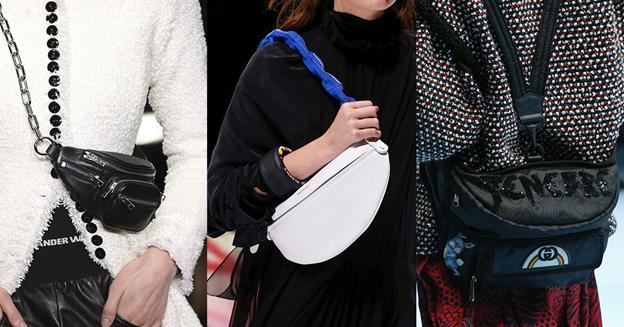Женские поясные сумки зима 2019