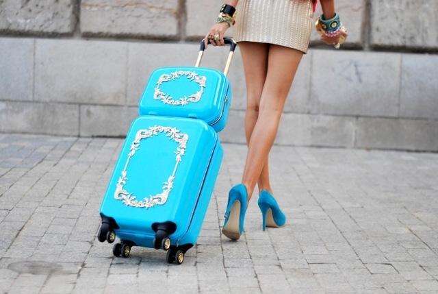 Модные чемоданы 2018