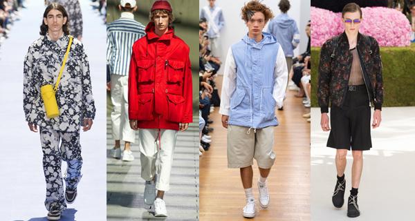 Весенние мужские куртки