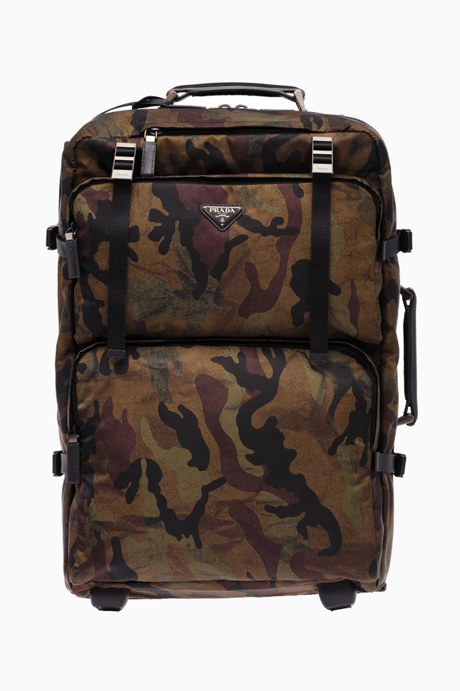 Кауфляжный чемодан