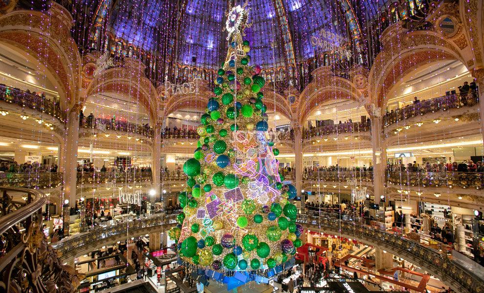 Новогоднее украшение бутиков