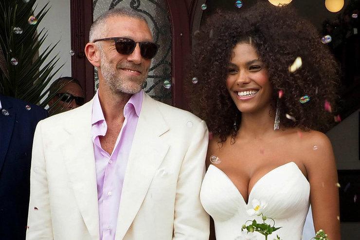 Фото со свадьбы Венсана Касселя