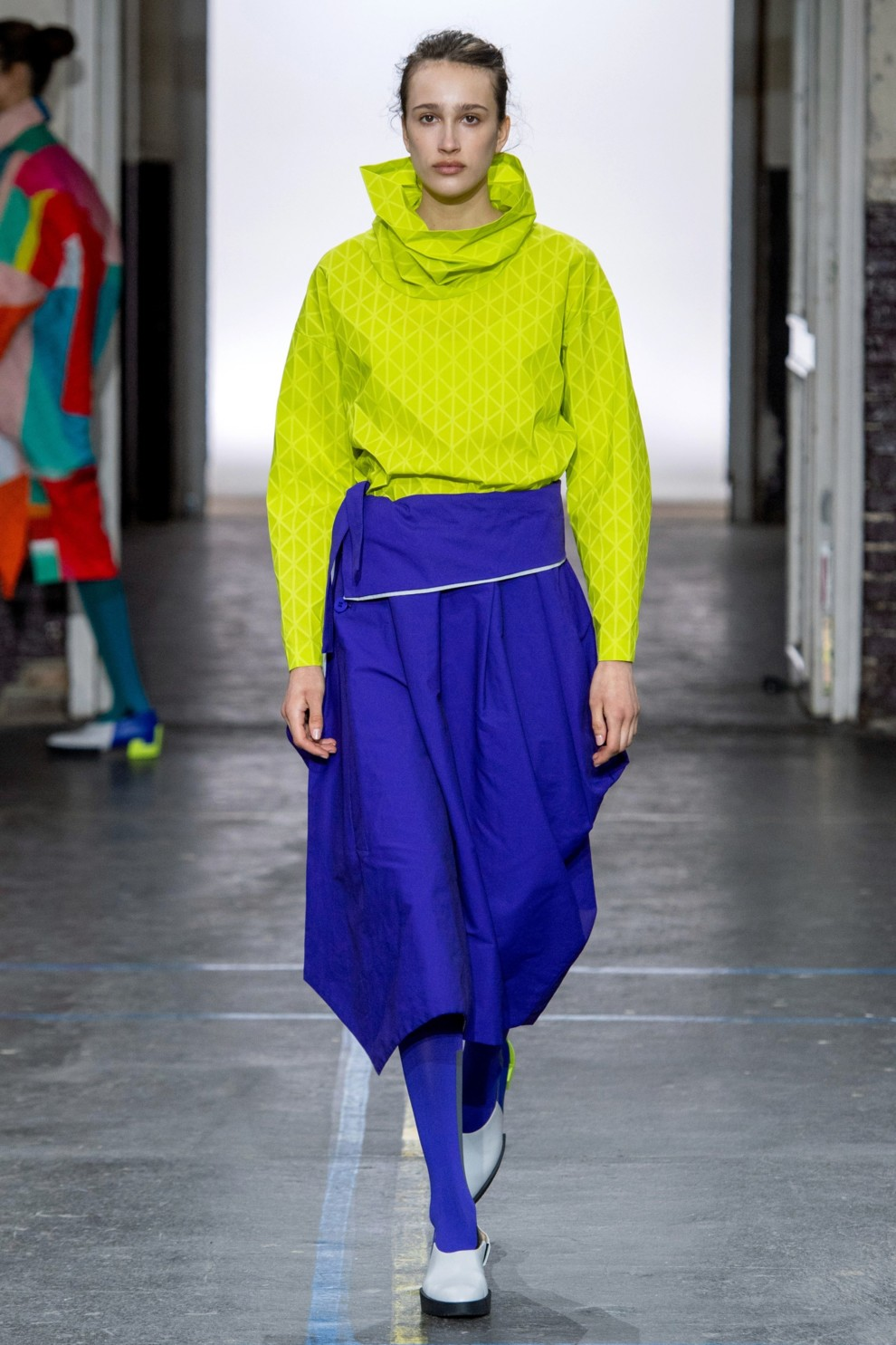 Желтая блузка осень-зима 2019-2020