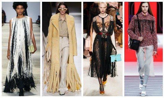 Женские платья с бахромой 2021