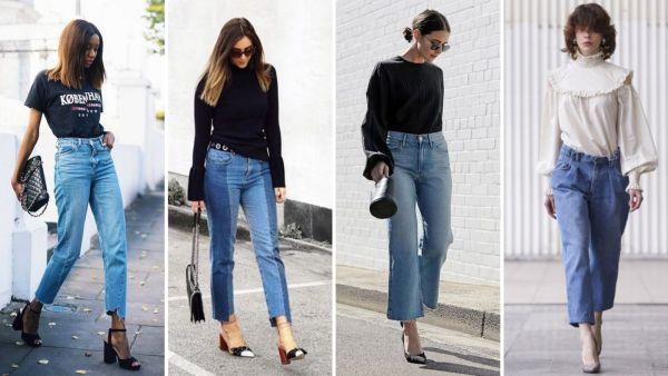 Базовые женские джинсы осень 2020