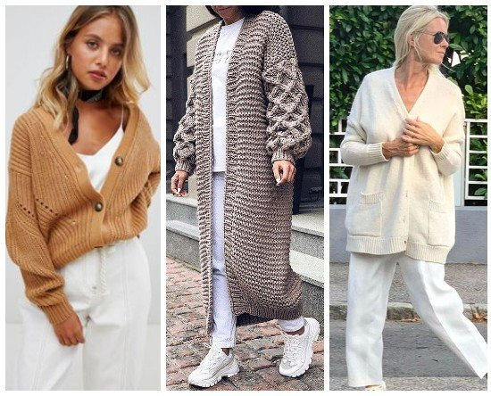 Модные женские кардиганы 2020